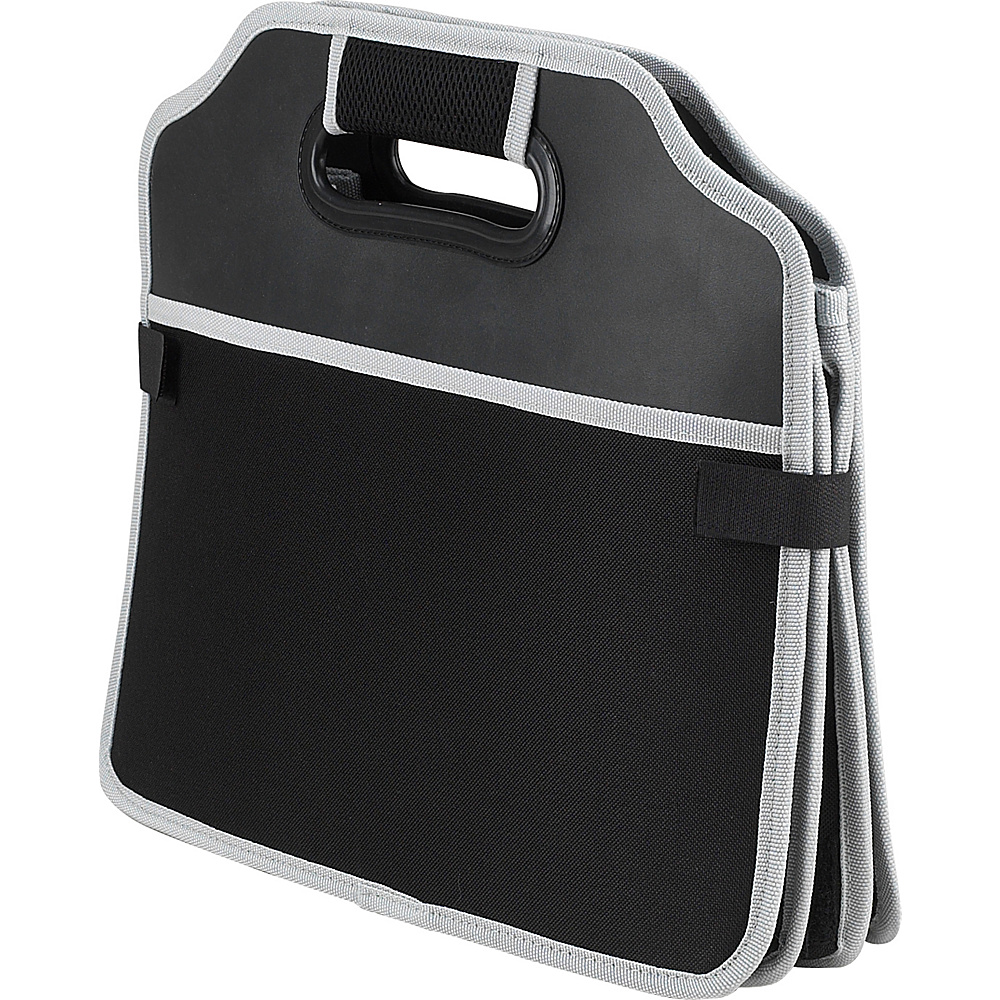 Picnic at Ascot Original Folding Trunk Organizer, designed by Picnic at Ascot Black - Picnic at Ascot Trunk and Transport Organization - Travel Accessories, Trunk and Transport Organization
