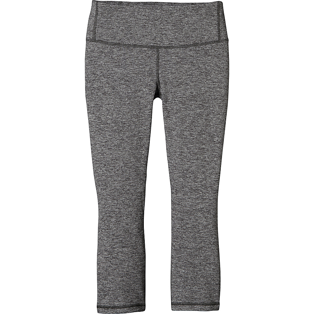 Patagonia Womens Centered Crops M - Forge Grey - Patagonia Womens Apparel - Apparel & Footwear, Women's Apparel