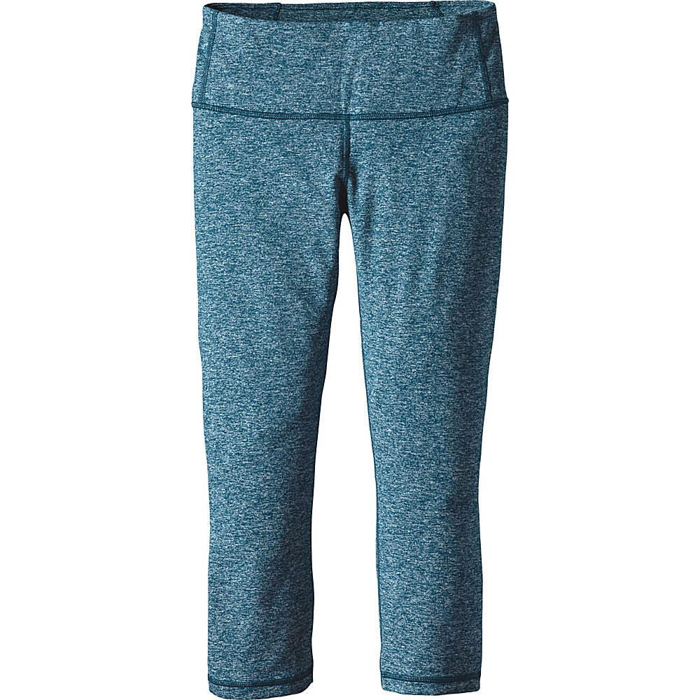 Patagonia Womens Centered Crops S - Big Sur Blue - Patagonia Womens Apparel - Apparel & Footwear, Women's Apparel