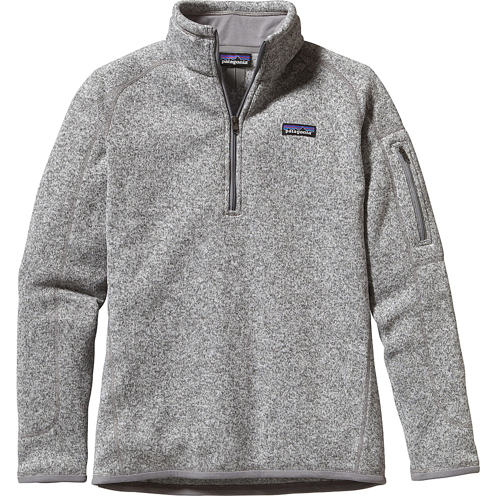 Patagonia Womens Better Sweater 1/4 Zip XXS - Birch White - Patagonia Womens Apparel - Apparel & Footwear, Women's Apparel