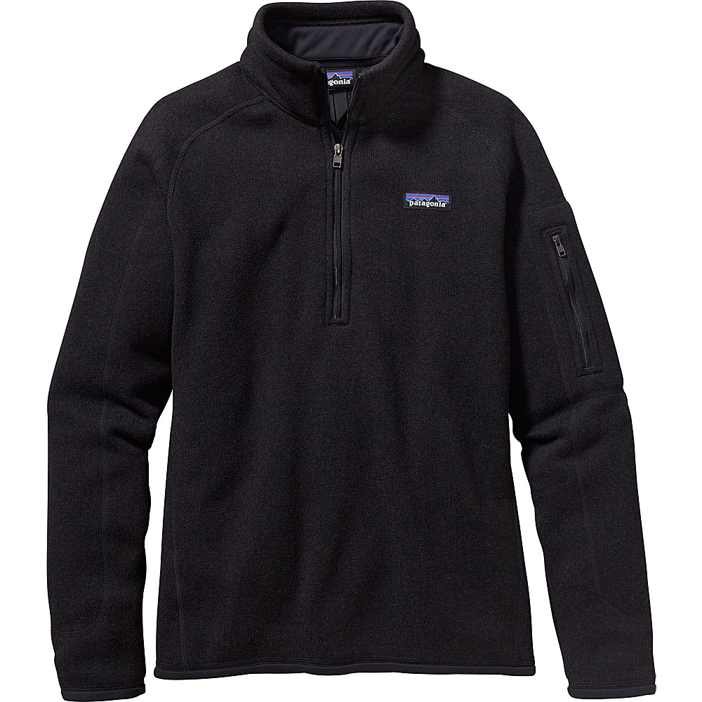 Patagonia Womens Better Sweater 1/4 Zip XL - Black - Patagonia Womens Apparel - Apparel & Footwear, Women's Apparel