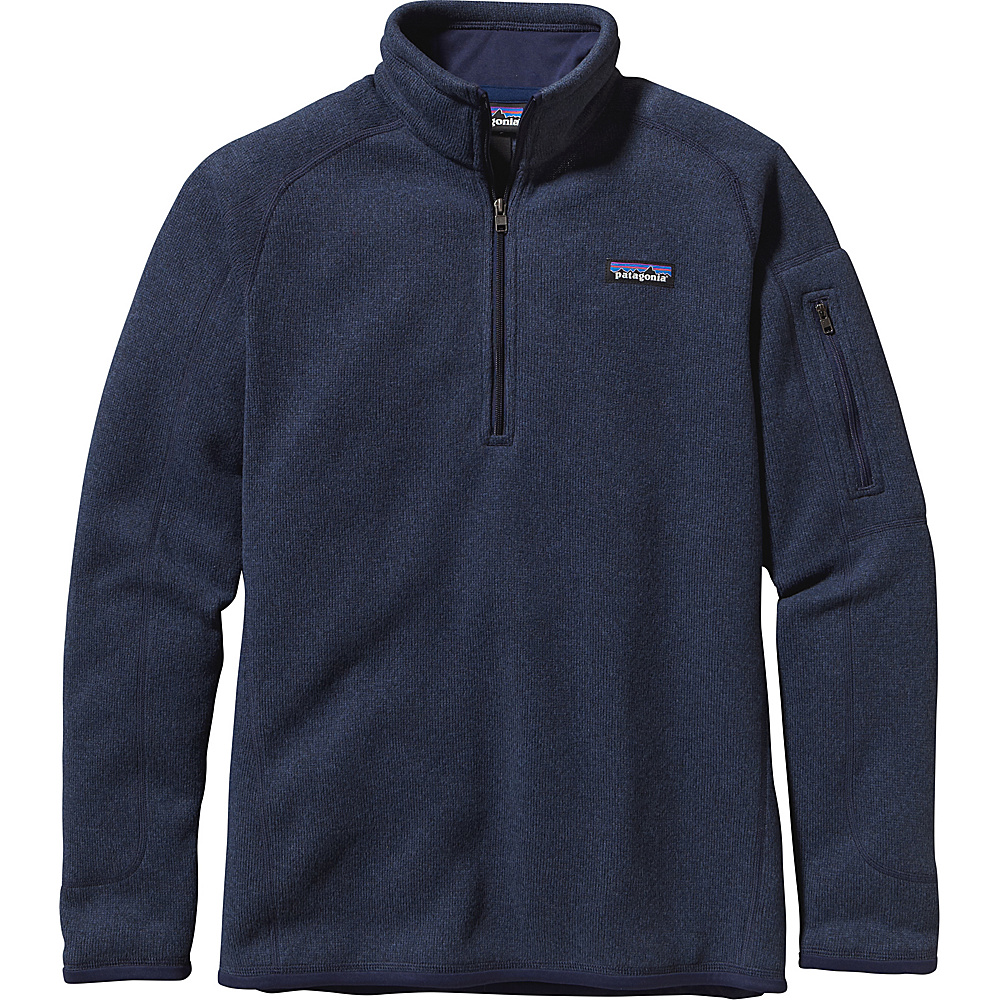 Patagonia Womens Better Sweater 1/4 Zip S - Classic Navy - Patagonia Womens Apparel - Apparel & Footwear, Women's Apparel