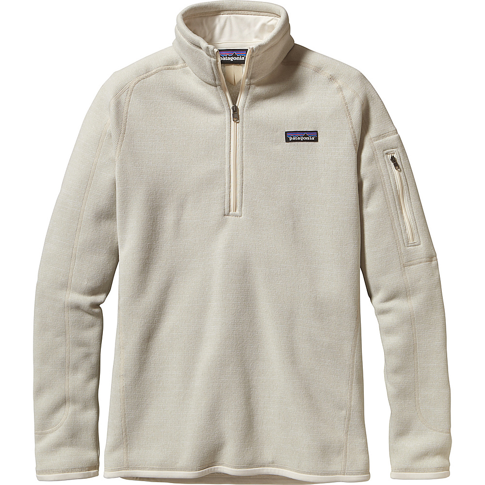 Patagonia Womens Better Sweater 1/4 Zip XS - Raw Linen - Patagonia Womens Apparel - Apparel & Footwear, Women's Apparel