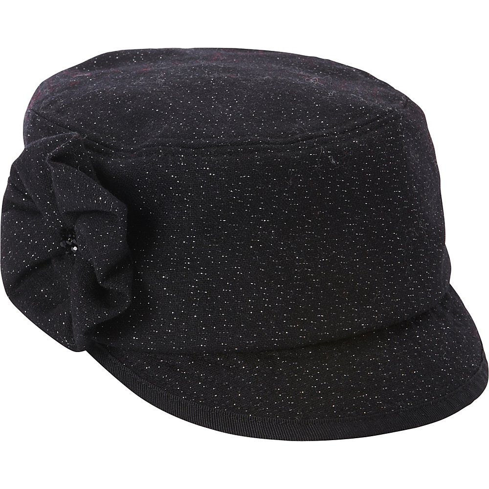 Betmar New York Cameron Cap One Size - Black - Betmar New York Hats/Gloves/Scarves