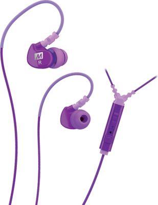 MEE Audio Sport-Fi Noise Isolating In-Ear Headphone with Microphone, Remote & Universal Volume Control Purple - MEE Audio Headphones & Speakers