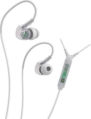 MEE Audio Sport-Fi Noise Isolating In-Ear Headphone with Microphone, Remote & Universal Volume Control Clear - MEE Audio Headphones & Speakers