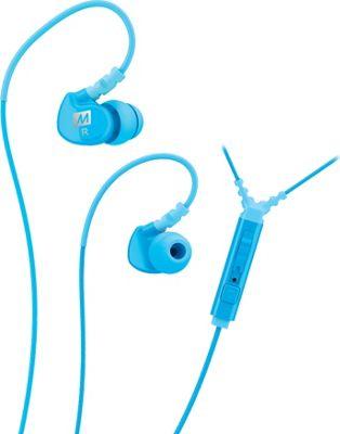 MEE Audio Sport-Fi Noise Isolating In-Ear Headphone with Microphone, Remote & Universal Volume Control Teal - MEE Audio Headphones & Speakers