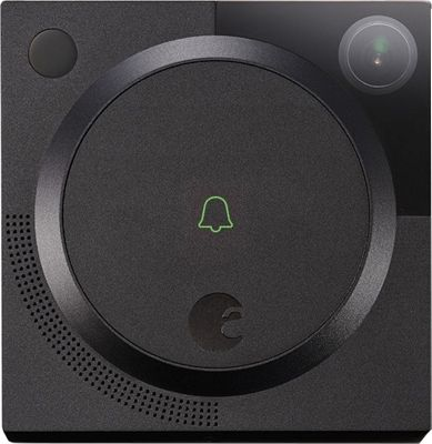 August Home Doorbell Cam Dark Gray - August Home Smart Home Automation