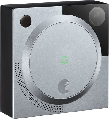August Home Doorbell Cam Silver - August Home Smart Home Automation