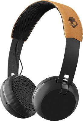 Skullcandy Ingram Grind Bluetooth Wireless Headphones Black Tan - Skullcandy Ingram Headphones & Speakers