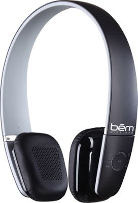 BEM Wireless EV 100 Bluetooth Wireless Headphones Black - BEM Wireless Headphones & Speakers
