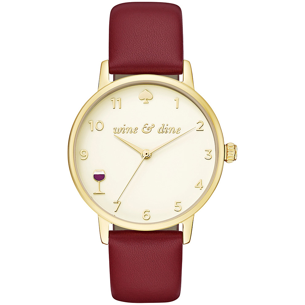 kate spade watches Metro Watch Red kate spade watches Watches