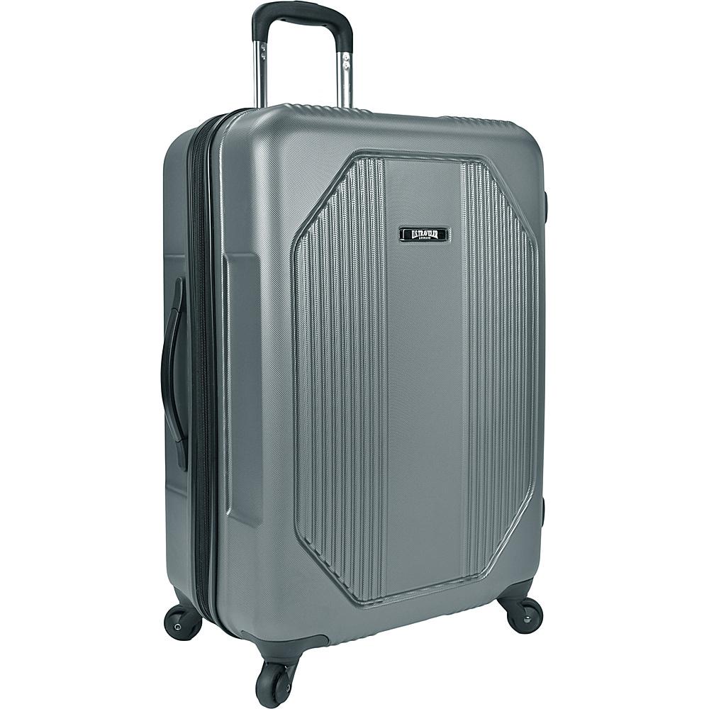 U.S. Traveler Bloomington 31 Spinner Set Grey U.S. Traveler Softside Checked