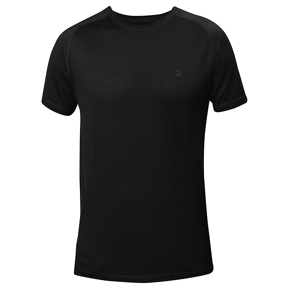 Fjallraven Abisko Trail T-Shirt XL - Black - Fjallraven Mens Apparel - Apparel & Footwear, Men's Apparel