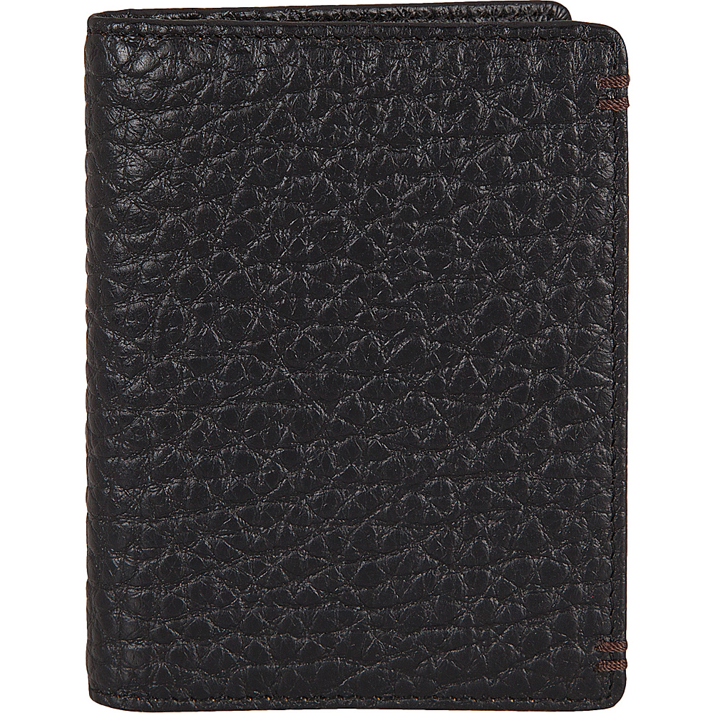 Lodis Borrego Under Lock and Key Harvey Money Clip Bifold Black - Lodis Mens Wallets - Work Bags & Briefcases, Men's Wallets