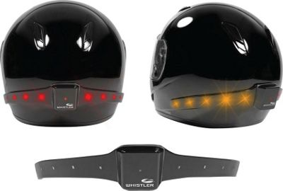 Whistler Group MotoGlo Helmet Safety Light Black - Whistler Group Car Travel