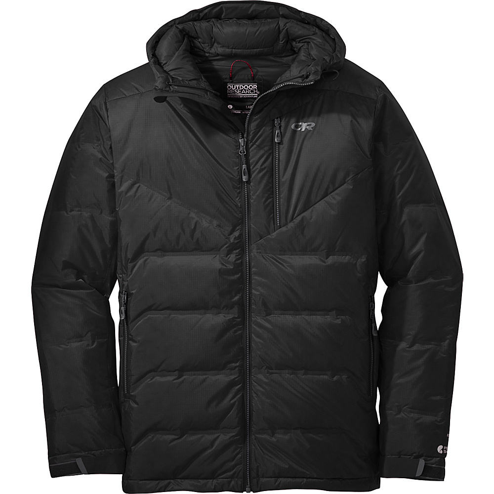 Outdoor Research Floodlight Jacket S - Black - Outdoor Research Mens Apparel - Apparel & Footwear, Men's Apparel
