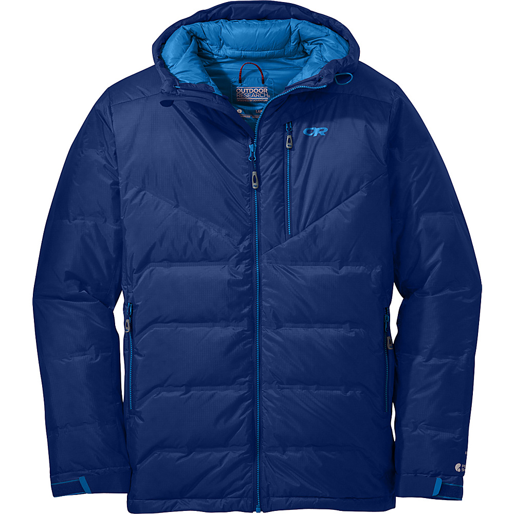 Outdoor Research Floodlight Jacket XL - Baltic - Outdoor Research Mens Apparel - Apparel & Footwear, Men's Apparel