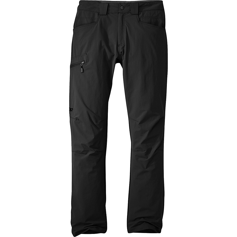 Outdoor Research Voodoo Pants (Short) 38 - Short - Black - Outdoor Research Mens Apparel - Apparel & Footwear, Men's Apparel