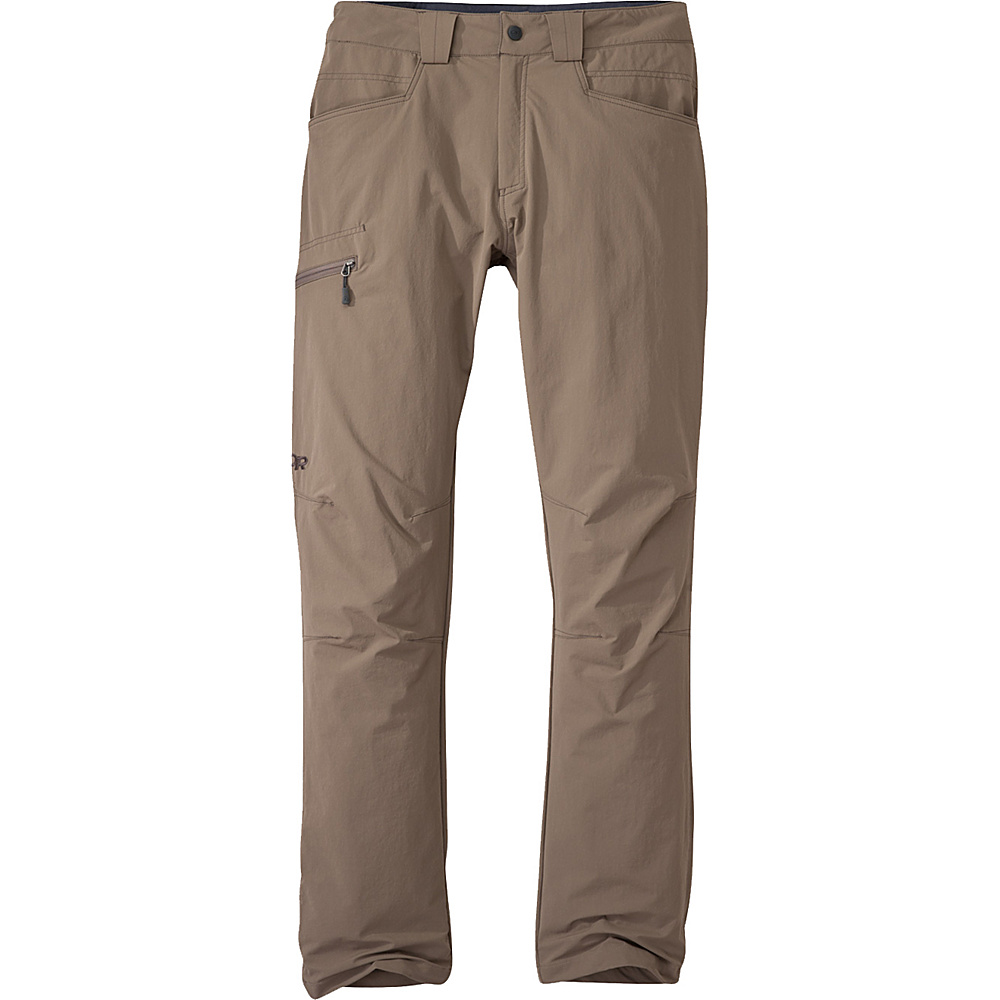 Outdoor Research Voodoo Pants (Short) 38 - Short - Walnut - Outdoor Research Mens Apparel - Apparel & Footwear, Men's Apparel