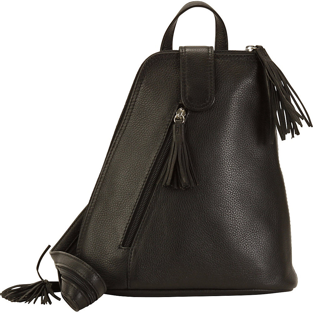 Hadaki Backpack Black - Hadaki Leather Handbags - Handbags, Leather Handbags