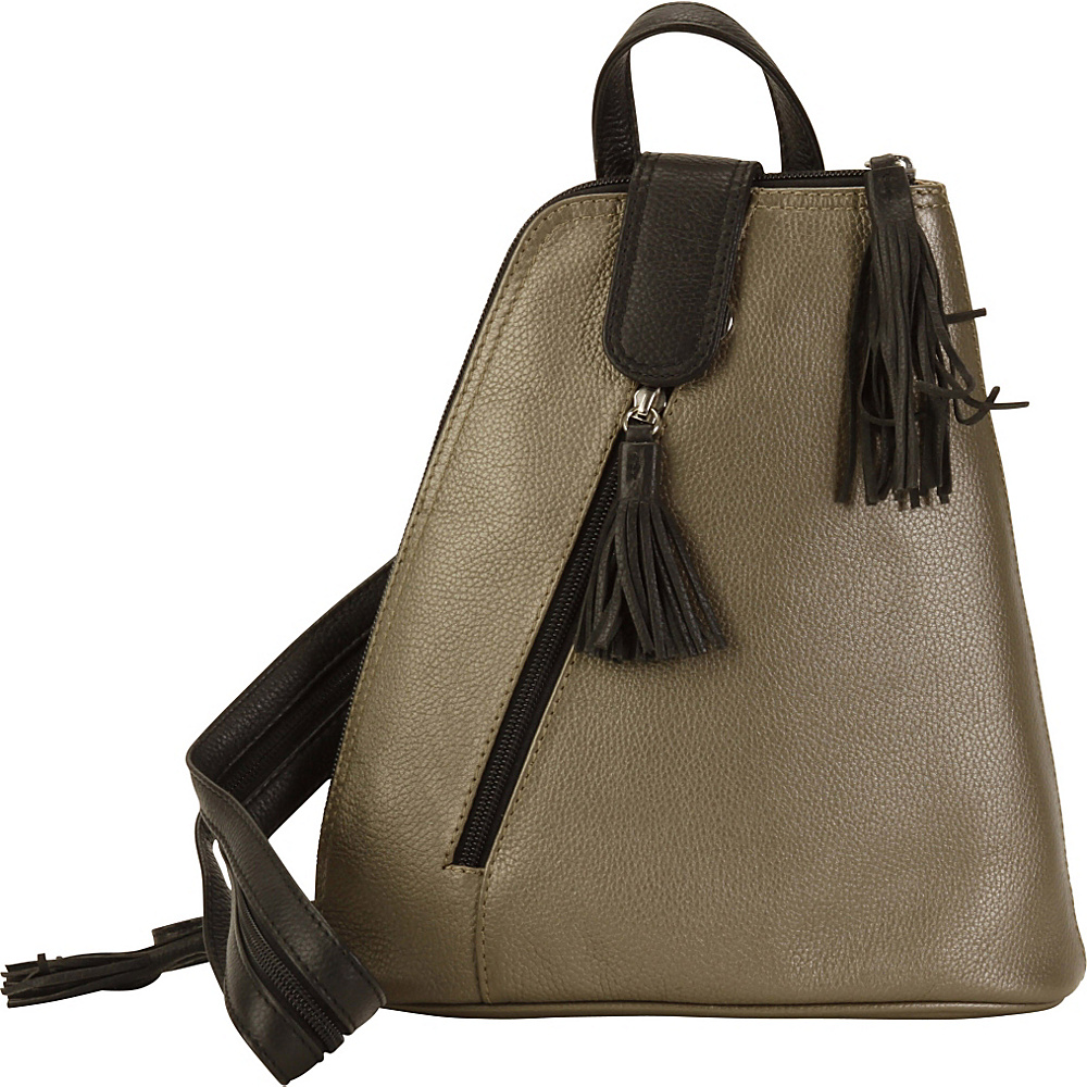 Hadaki Backpack Bronze - Hadaki Leather Handbags - Handbags, Leather Handbags