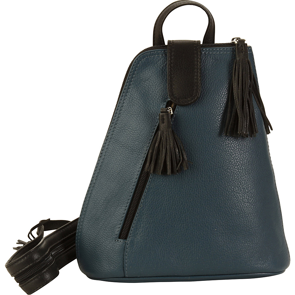 Hadaki Backpack Indian Teal - Hadaki Leather Handbags - Handbags, Leather Handbags