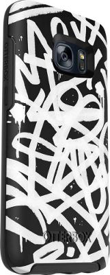 Otterbox Ingram Symmetry Series Graphics Case for Samsung Galaxy S7 Graffiti - Otterbox Ingram Electronic Cases