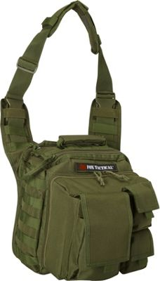 Fox Outdoor Over the Headrest Tactical Go-To Bag Olive Drab - Fox Outdoor Tactical