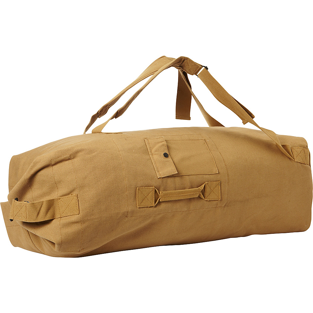Fox Outdoor 40-38 GI Style 2 Strap Duffle Bag - Coyote Brown