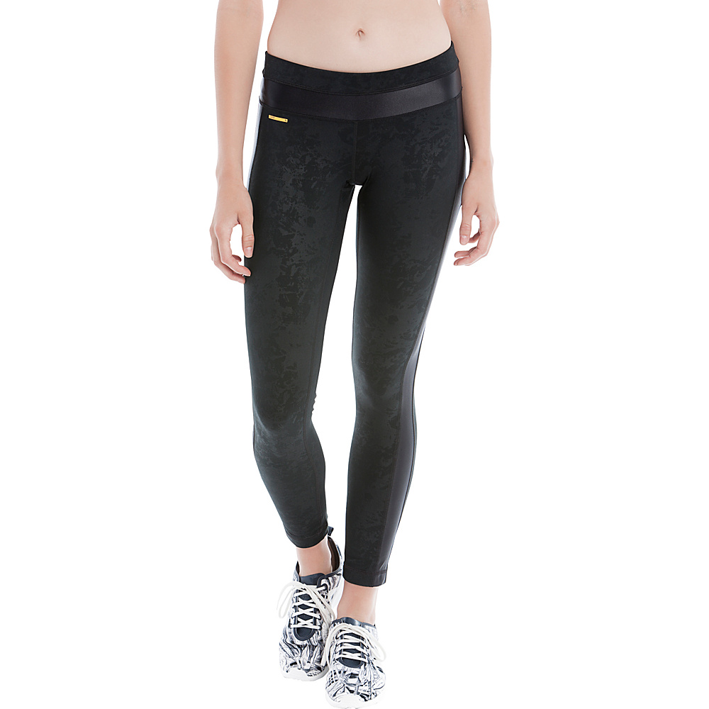 Lole Maile Leggings L - Black Festival - Lole Womens Apparel - Apparel & Footwear, Women's Apparel
