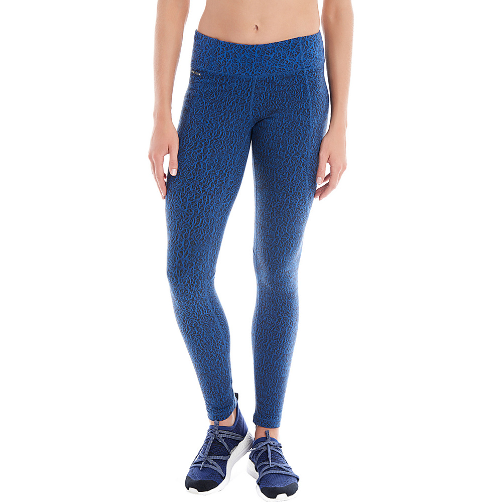 Lole Evie Leggings XS - True Blue Alleys - Lole Womens Apparel - Apparel & Footwear, Women's Apparel