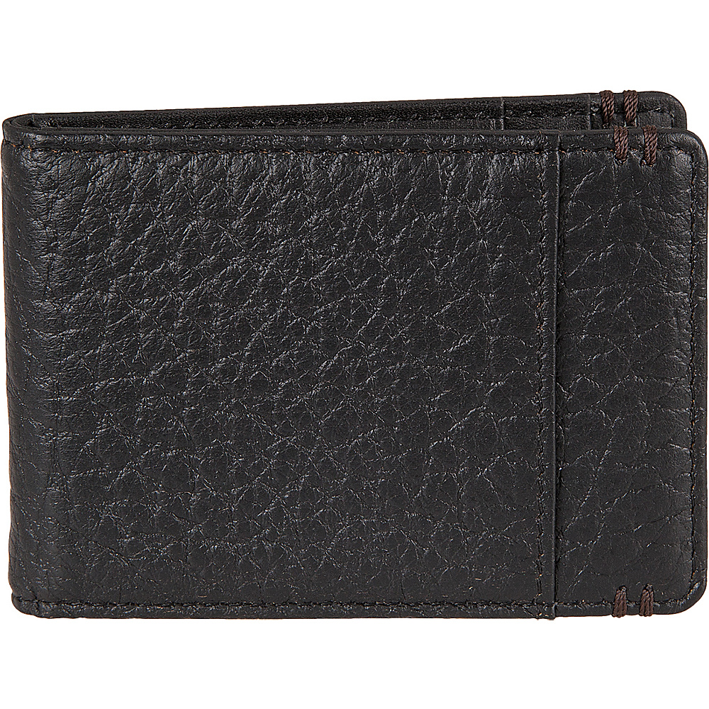 Lodis Borrego Under Lock and Key Bifold Money Clip Black - Lodis Mens Wallets - Work Bags & Briefcases, Men's Wallets
