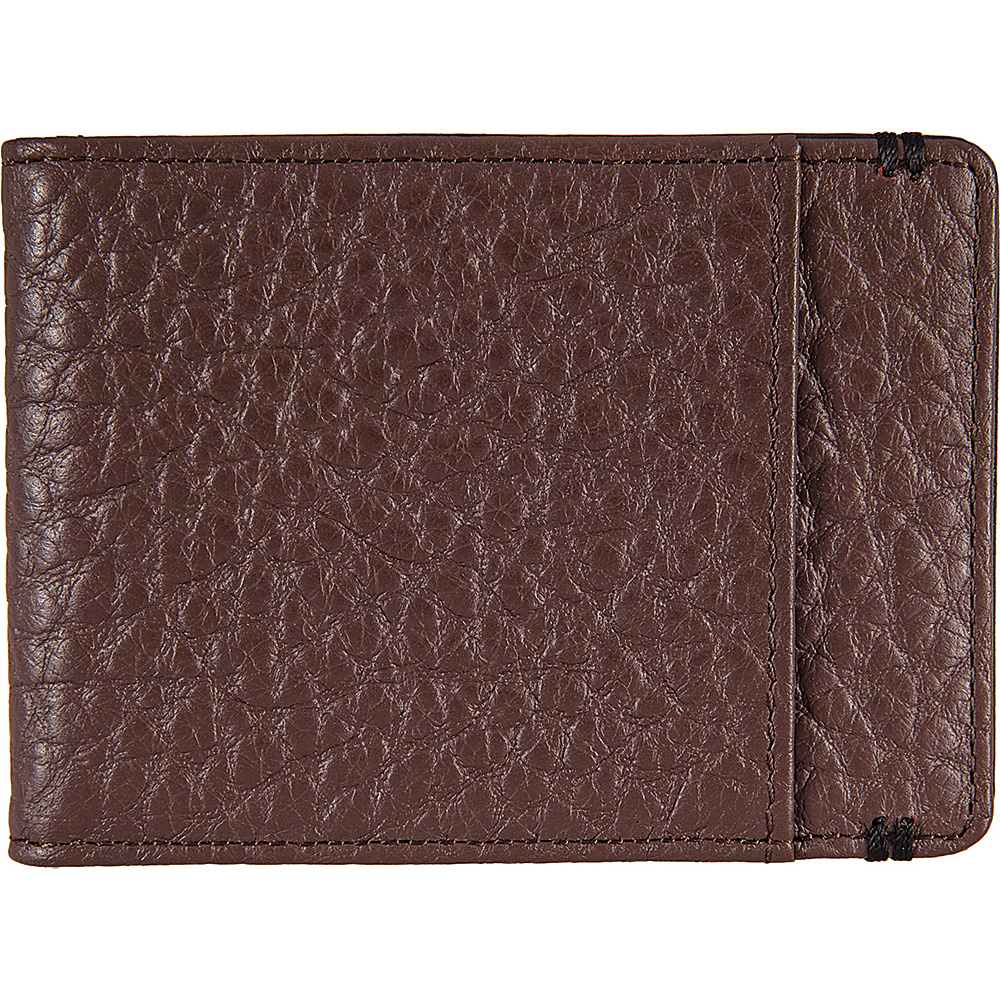 Lodis Borrego Under Lock and Key Bifold Money Clip Dark Brown - Lodis Mens Wallets - Work Bags & Briefcases, Men's Wallets