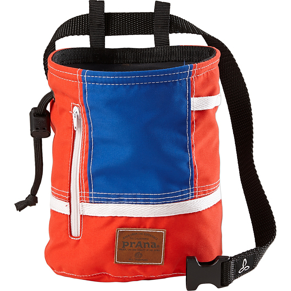 PrAna Color Block Chalk Bag Red White Blue - PrAna Other Sports Bags