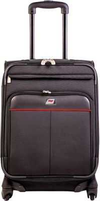 Andare Milan 28 inch 8 Wheel Spinner Upright Black - Andare Softside Checked