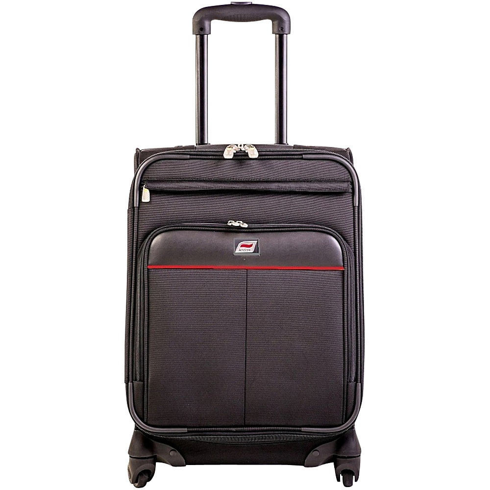 Andare Milan 28 8 Wheel Spinner Upright Black Andare Softside Checked