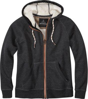 PrAna Lifestyle Full Zip Lined Hoodie L - Black - PrAna Men's Apparel