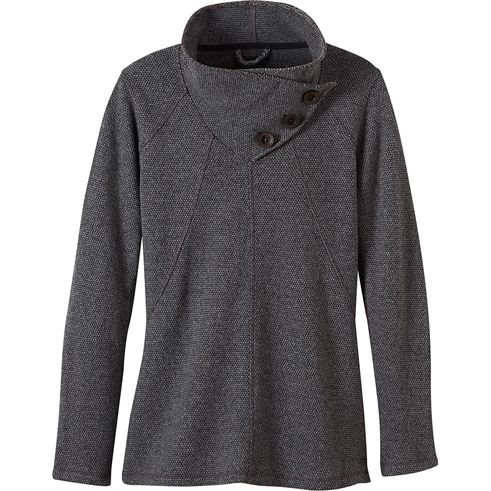 PrAna Ebba Sweater L - Coal - PrAna Womens Apparel - Apparel & Footwear, Women's Apparel