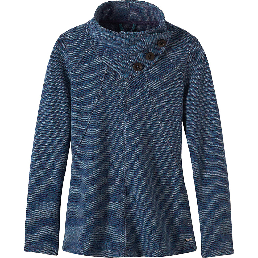 PrAna Ebba Sweater XL - Gray Indigo - PrAna Womens Apparel - Apparel & Footwear, Women's Apparel
