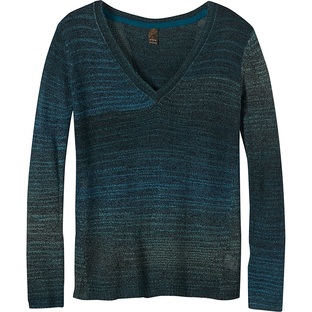 PrAna Julien Sweater XL - Deep Teal - PrAna Womens Apparel - Apparel & Footwear, Women's Apparel
