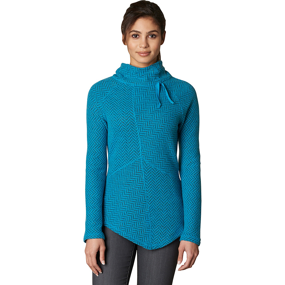 PrAna Mattea Sweater S - Harbor Blue - PrAna Womens Apparel - Apparel & Footwear, Women's Apparel