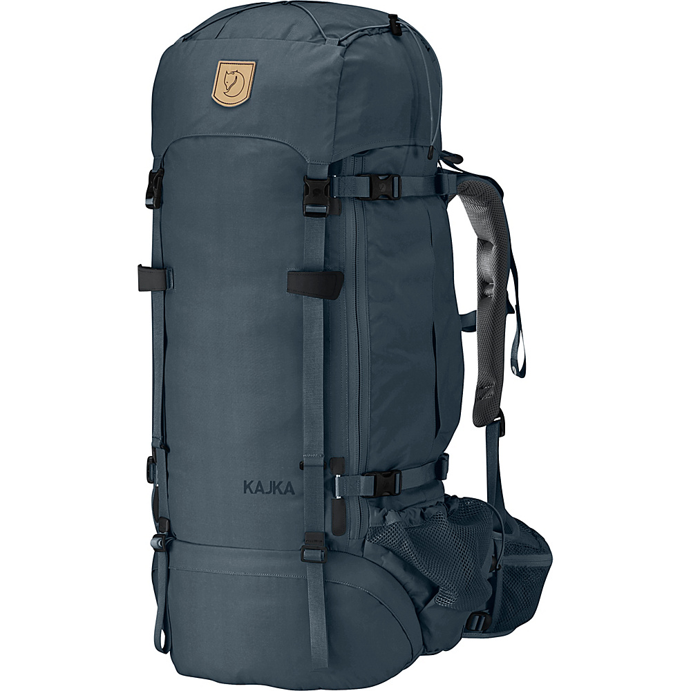 Fjallraven Kajka Backpack 65 Graphite - Fjallraven Day Hiking Backpacks - Outdoor, Day Hiking Backpacks