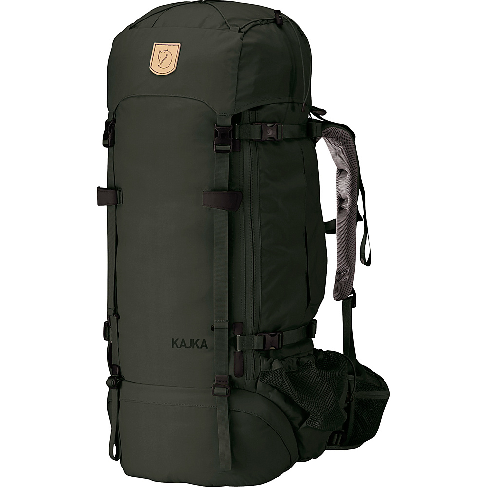 Fjallraven Kajka Backpack 65 Forest Green - Fjallraven Day Hiking Backpacks - Outdoor, Day Hiking Backpacks