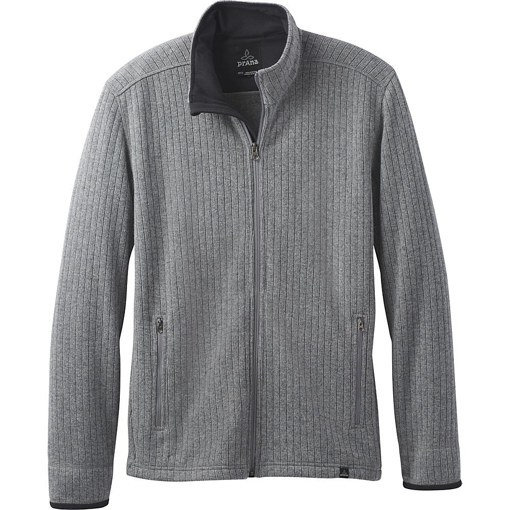 PrAna Barclay Sweater XL - Gravel - PrAna Mens Apparel - Apparel & Footwear, Men's Apparel
