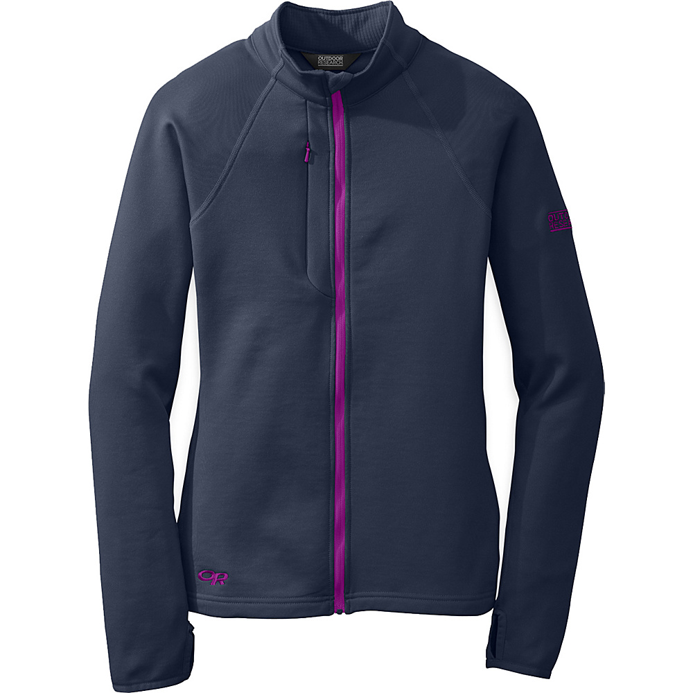 Outdoor Research Womens Radiant Hybrid Jacket S - Night/Ultraviolet - Outdoor Research Womens Apparel - Apparel & Footwear, Women's Apparel