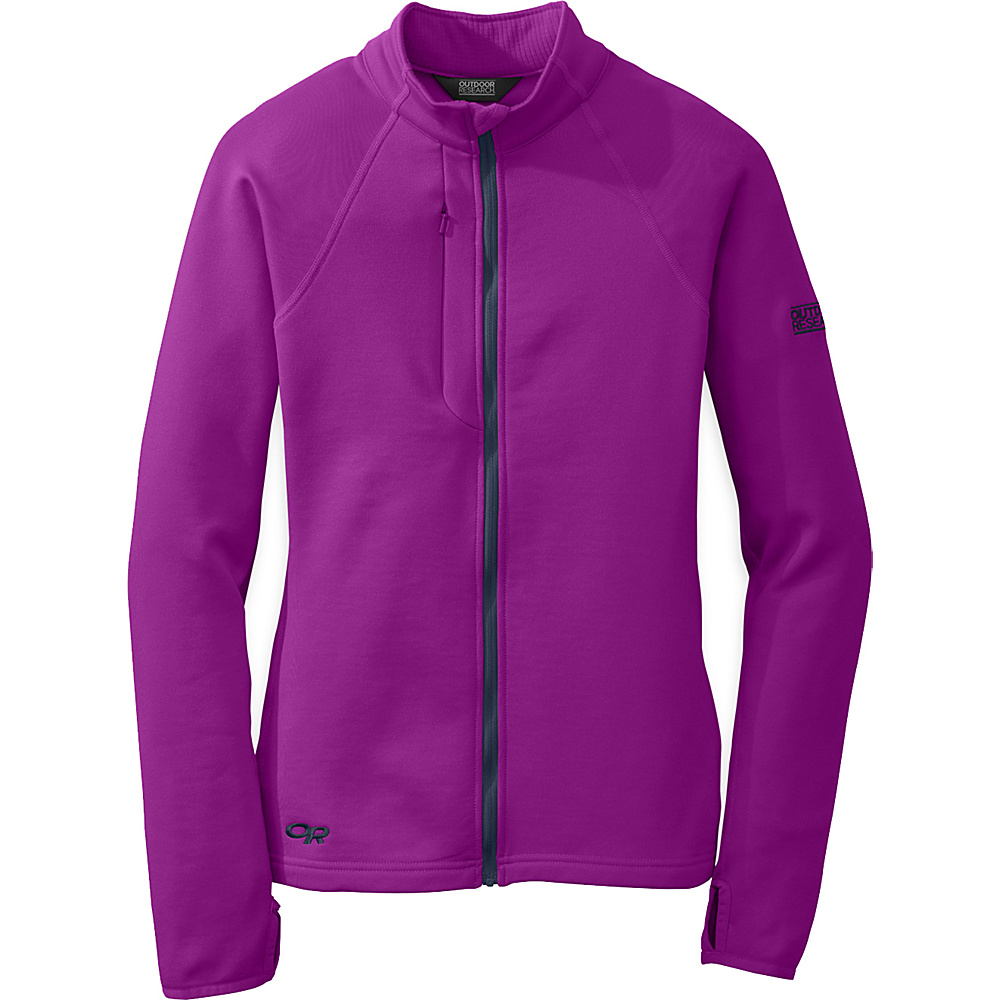 Outdoor Research Womens Radiant Hybrid Jacket XL - Ultraviolet/Night - Outdoor Research Womens Apparel - Apparel & Footwear, Women's Apparel