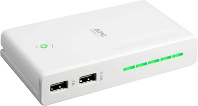 APC Back-Ups Connect Mobile Power Pack White - APC Portable Batteries & Chargers