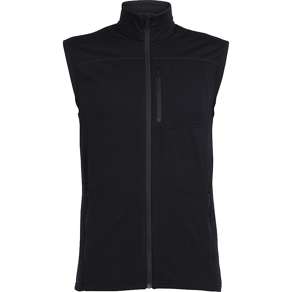 Icebreaker Mens Mt Elliot Vest XL - Black - Icebreaker Mens Apparel - Apparel & Footwear, Men's Apparel
