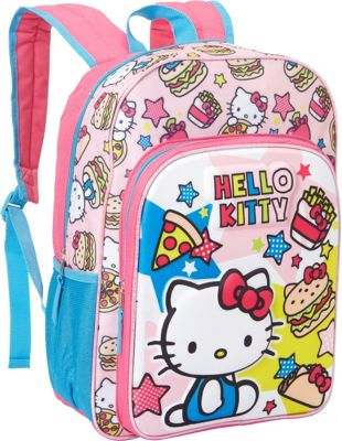 Hello Kitty Fab NY Hello Kitty Fab NY Food Molded EVA Backpack Pink - Hello Kitty Fab NY Everyday Backpacks